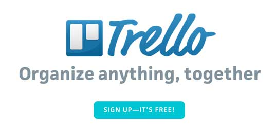 Trello is handy PM and collaboration tool