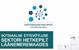 Sotsiaalse ettevõtluse sektori hetkepilt läänemeremaades tiitelleht