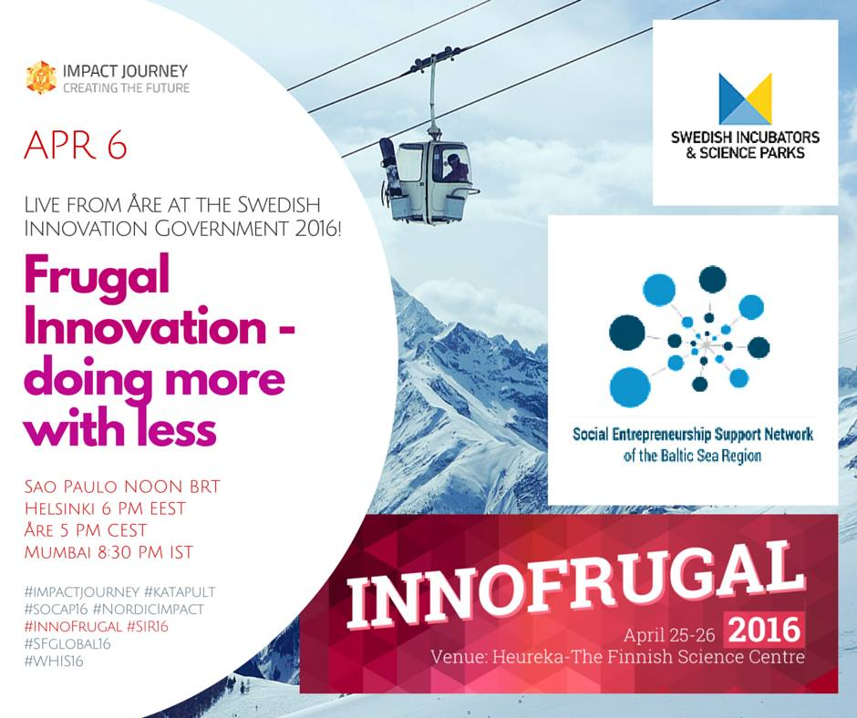 InnoFrugal – doing more with less – Impact Journey 2016