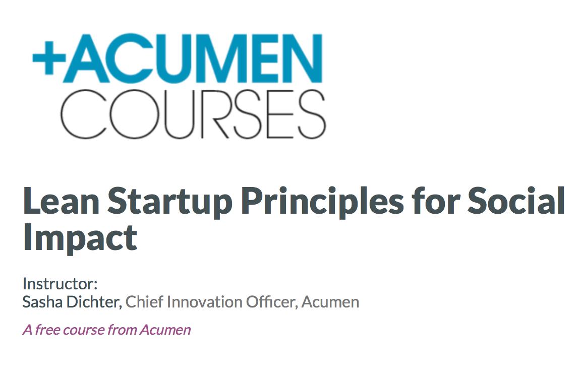 Acumen Course