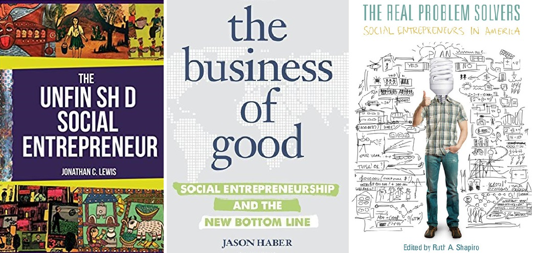 Three books for every social entrepreneur