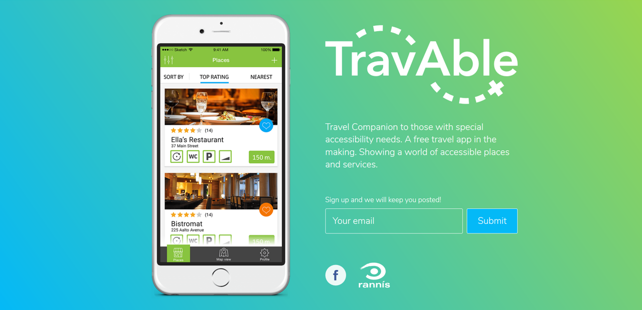 TravAble- the travel companion for the physically impaired