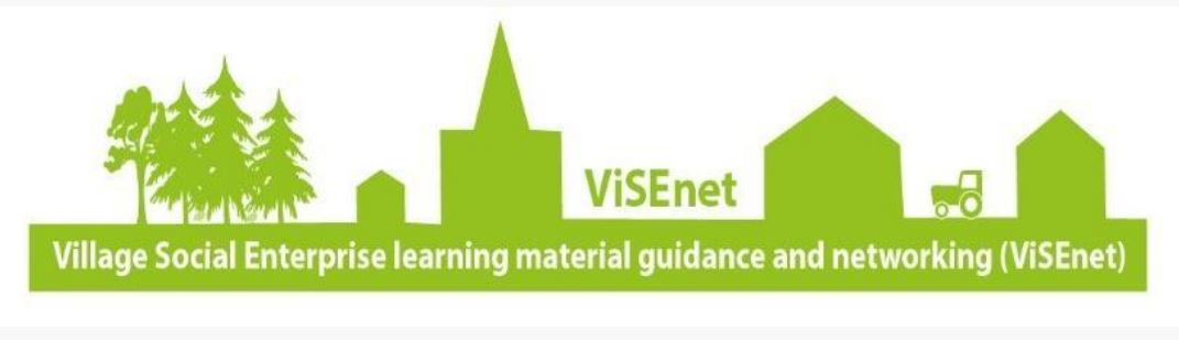 Social enterprise learning materials from Visenet