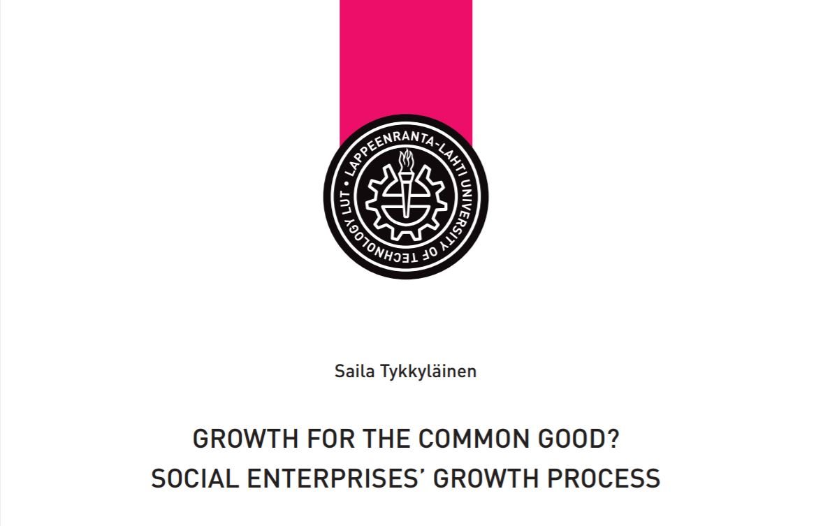 Growth for the Common Good? Learnings from social enterprises' growth process