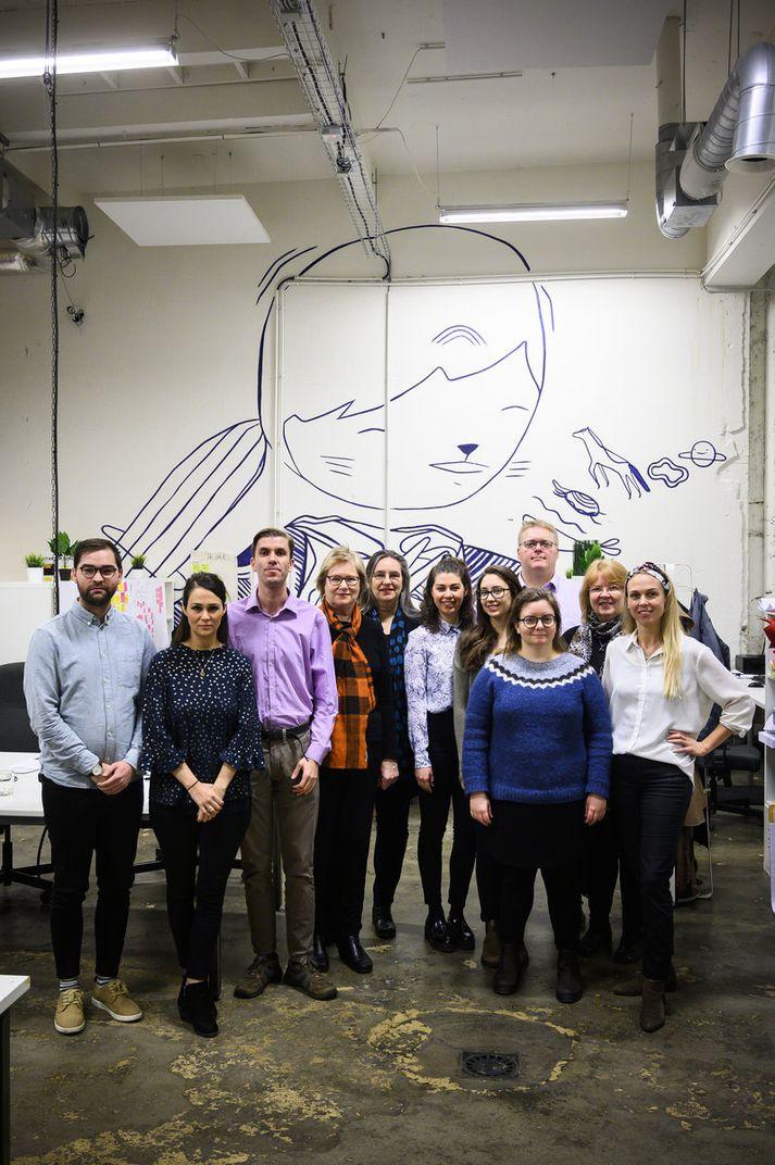 Snjallræði: Startup Social 2019 final teams