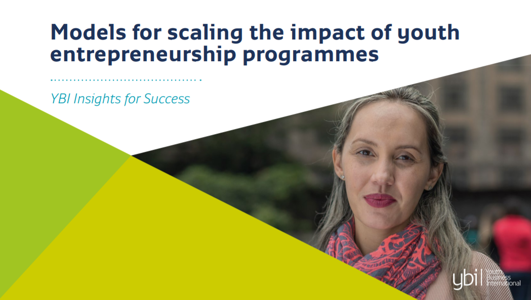 Models for scaling the impact of youth entrepreneurship programmes