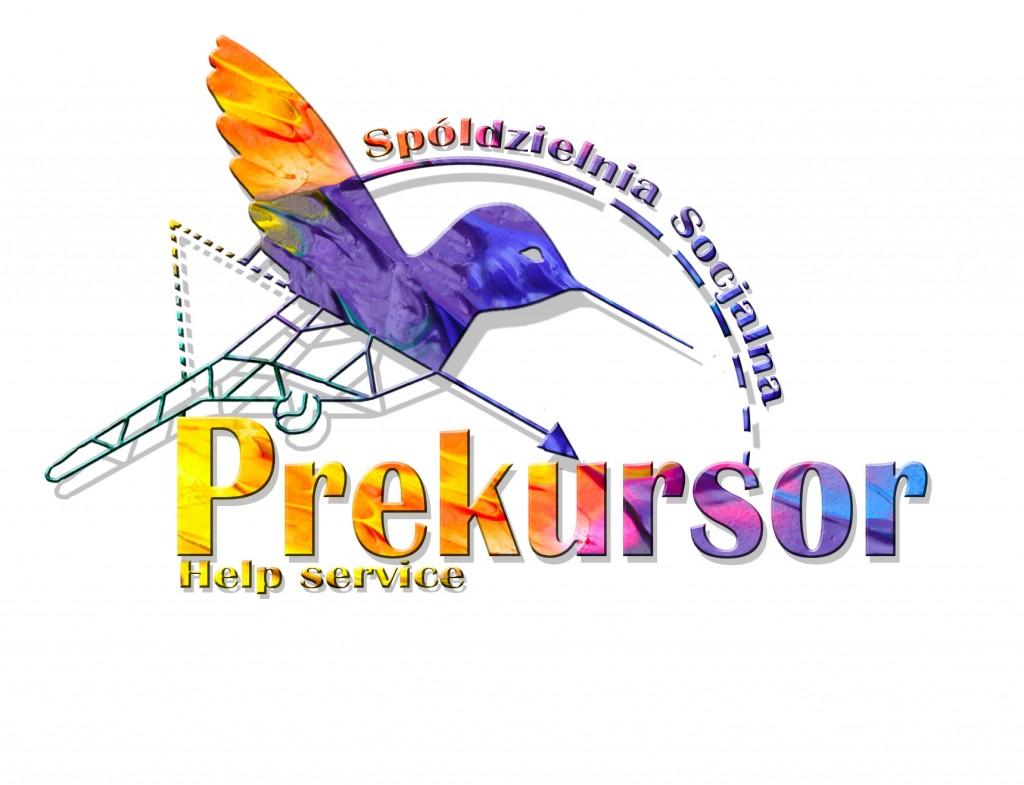 logo prekursor kolorowe elementy