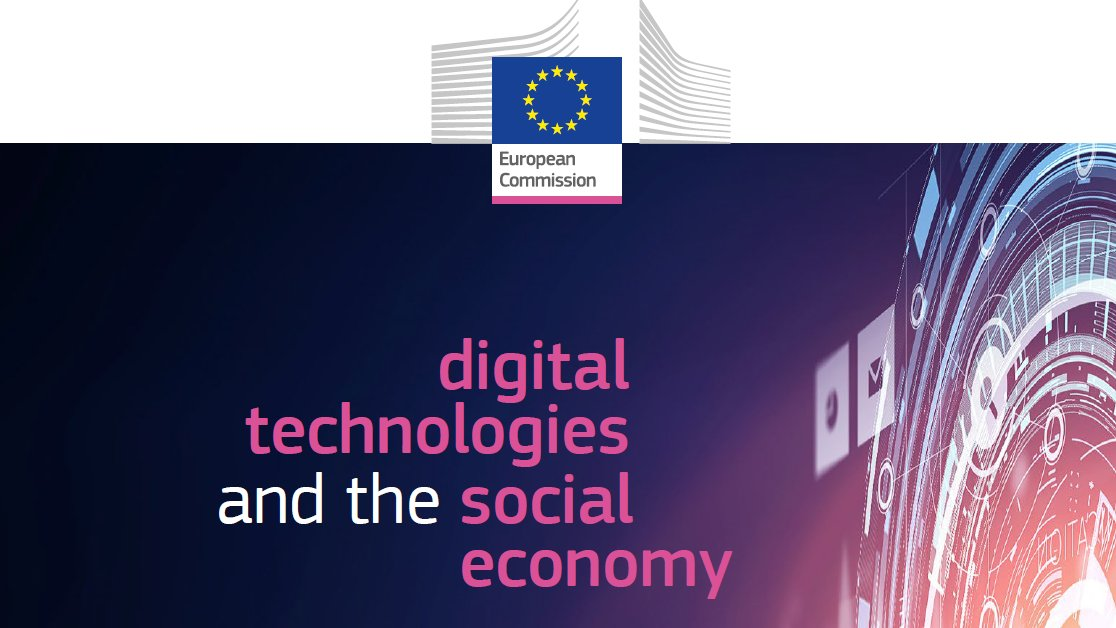 "Read the latest EU study ""New technologies and digitisation: opportunities and challenges for the social economy and social enterprises"""