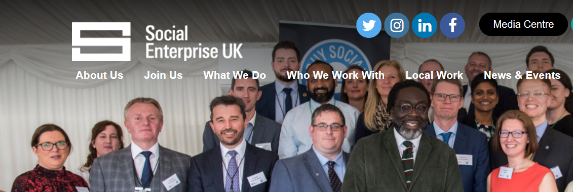 Social Enterprise UK – supports social innitiatives and builds new networks