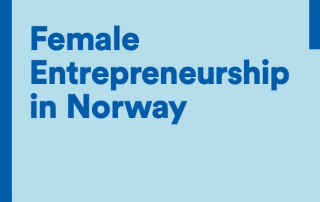 Female Entrepreneurship in Norway IN