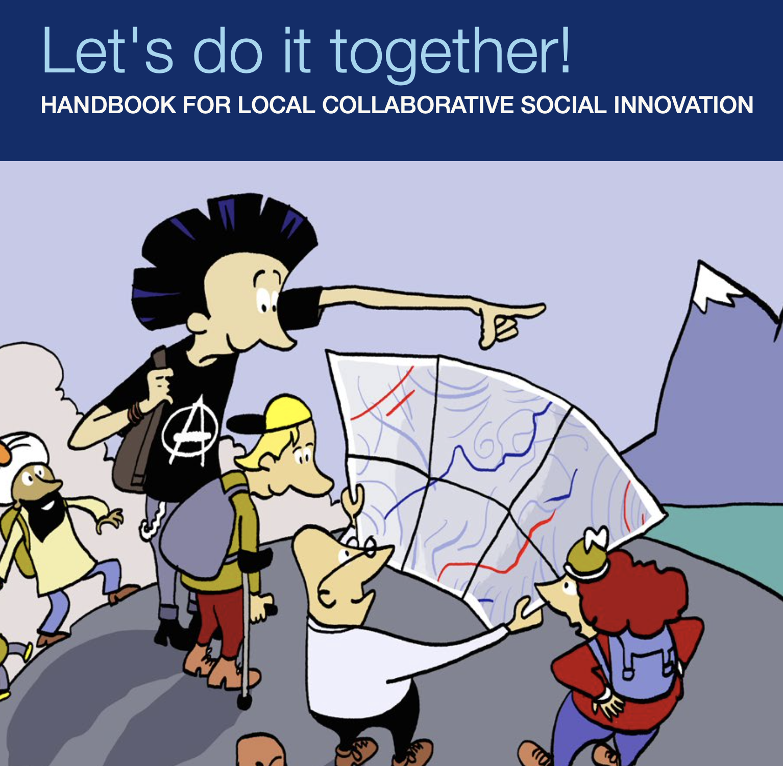 Let's do it together! Handbook for  local collaborative social innovation