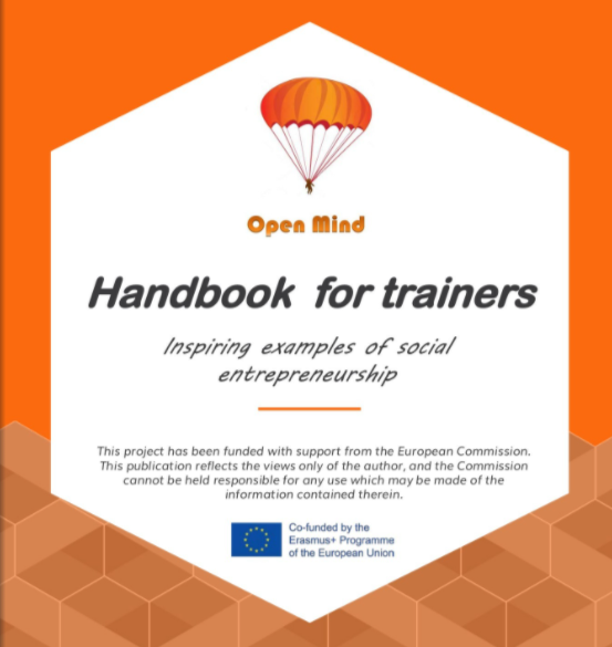 Handbook for trainers in Social Entrepreneurship