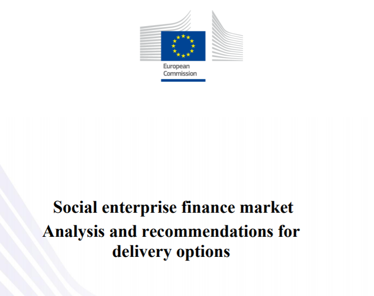 Social enterprise finance market: analysis and recommendations for delivery options