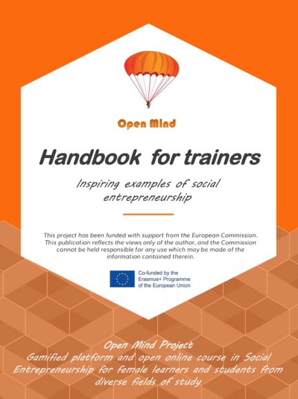 Handbook for trainers in Social Entrepreneurship