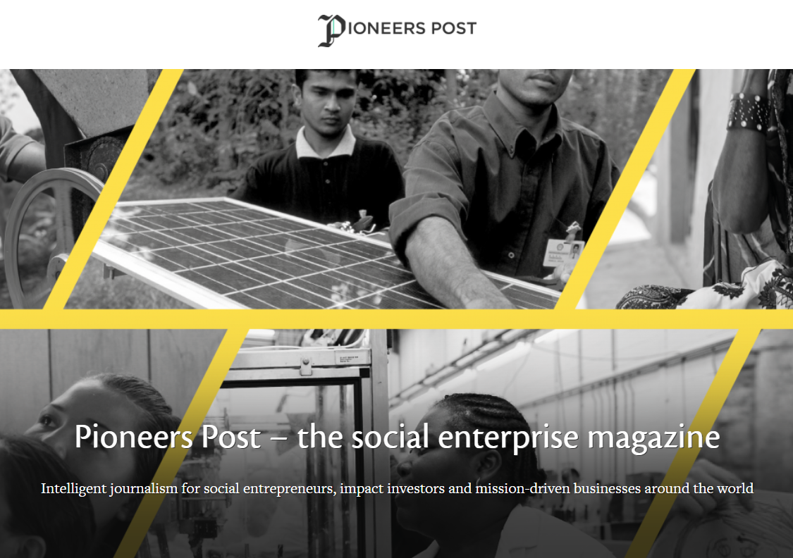 Pioneers Post – The Social Enterprise Magazine