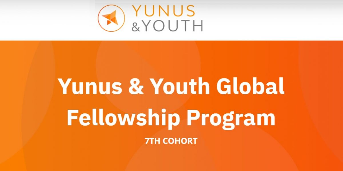 Apply for The Yunus & Youth Global Fellowship (online)