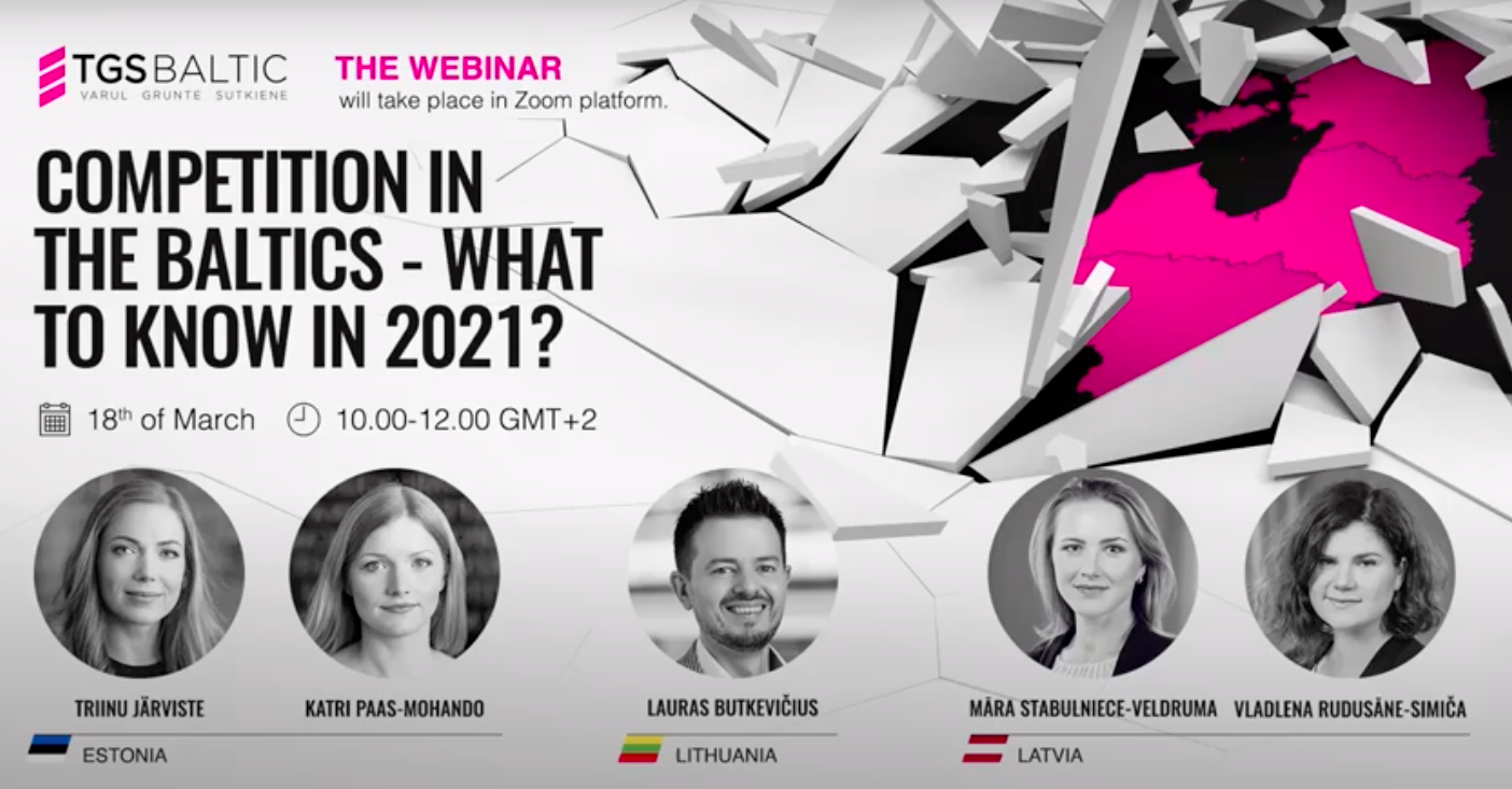 WEBINAR | Competition in the Baltics – what to know in 2021? Before setting your business