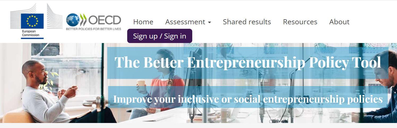 "Do you know the OECD tool ""SOCIAL ENTREPRENEURSHIP SELF-ASSESMENT?"